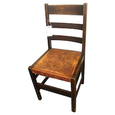 Antique Great Looking L&jG Stickley Side Chair w2469