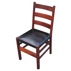 "Antique ""Gustav Stickley"" Side Chair  w2486"