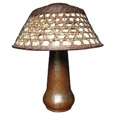 Antique Gustav Stickley Table Lamp  w253
