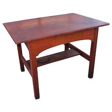 Rare Antique L&jG Stickley Library Table  w2636