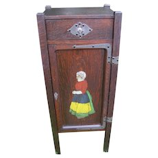 Superb Antique Shop of the Crafters Small Cabinet/ Cellarette  w2649