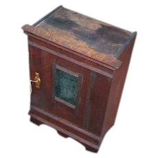 Antique Arts & Crafts Small Cabinet  w2668