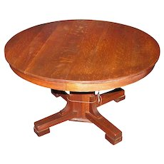 Antique Lifetime Dining Table w2754