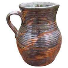 Antique FULPER Pitcher/ Vase w2877