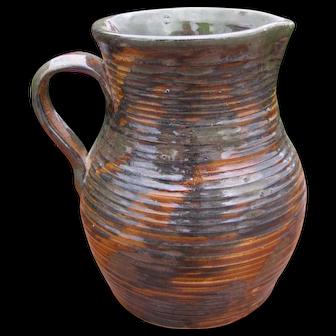 Antique FULPER Pitcher/ Vase w2877