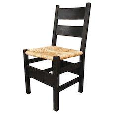 Superb Antique Gustav Stickley Thornder Side Chair  w29