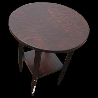 Antique Limbert Lamp Table  w2920