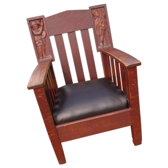 Antique Shop of the Crafter Armchair  w2968