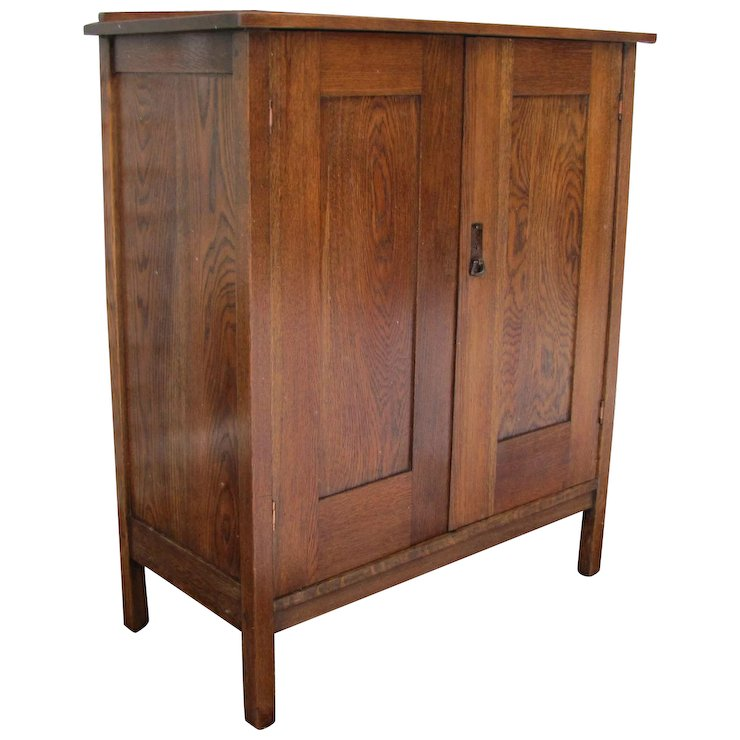 Antique Lu0026jG Stickley Chifforobe W3093 This Cabinet Is On Hold.