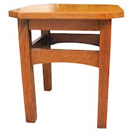 Great Looking Antique Early L&jG Stickley Small Table  w3133