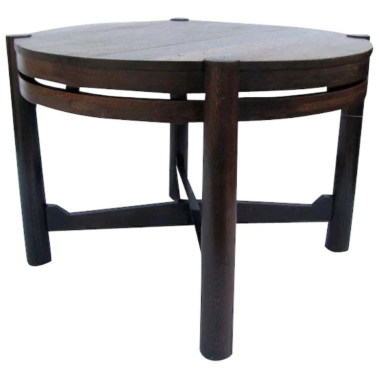 Antique Gustav Stickley Table (Tobey Chicago) w3145 (VERY EARLY & : Antique  Mission Furniture | Ruby Lane - Antique Gustav Stickley Table (Tobey Chicago) W3145 (VERY EARLY