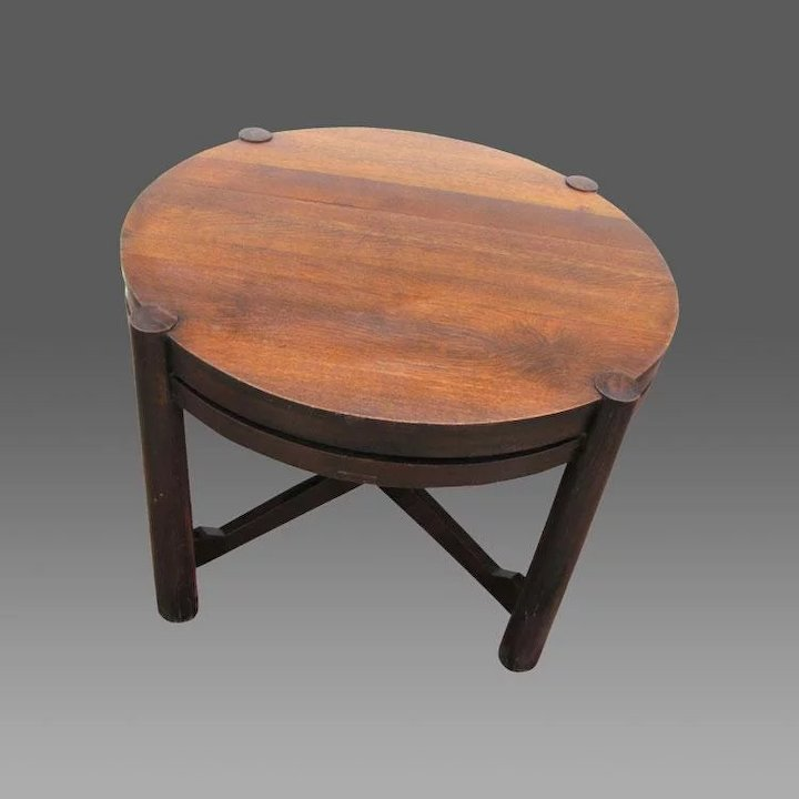 Antique Gustav Stickley Table (Tobey Chicago) W3145