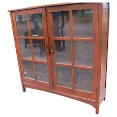 Antique L&jG STICKLEY Bookcase   w3253
