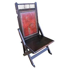 Rare Antique Shop of the Crafter Chair  w3288