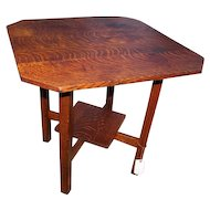Superb Nice Antique L&JG Stickley Table  w3297