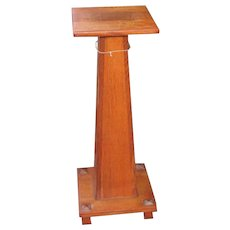 Antique Stickley Brothers Arts & Crafts Stand  w333