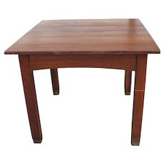 Antique J.M. Young Table w3339