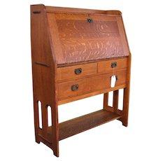 Antique Stickley Brothers Drop Front Desk  w3373