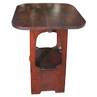 "Antique ""Brooks"" Stand/Table (Stickley Era)   w3899"