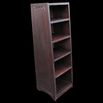 Antique Early & Rare Gustav Stickley Magazine/ Book Stand w3932
