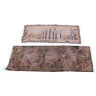 Pair of Vintage Tapestries w4032