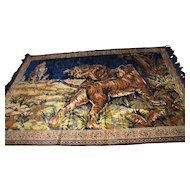 Vintage Tiger Tapestry  w4034  FREE SHIPPING
