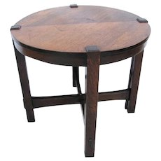 Great Antique Arts & Crafts Table w4086
