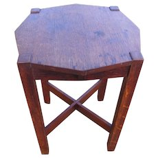 Antique Stickley Brothers Stand/Table  w4100