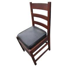 Antique Nice L&jG Stickley Side Chair w4145