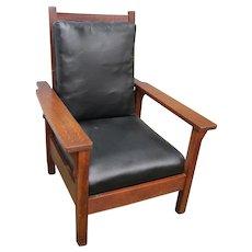 Antique Gustav Stickley Morris Chair  w4816