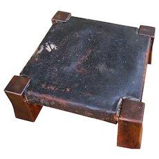 Antique Gustav Stickley Foot Rest with Paper Label   w4847