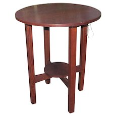 Antique L&jG Stickley Small Table/ Stand  w4893