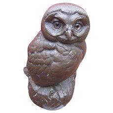 Vintage Joseph Boulton Owl Sculpture w4920