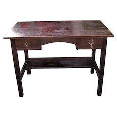 SUPERB Rare L&jG Stickley Onodago Shop Desk  w5025