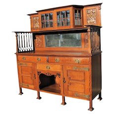 Antique English Break Front  w5040  sale,,,,,, sale     sale   sale    This cabinet together with all our ruby lane will be for lower price.