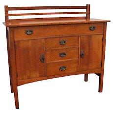Antique Gustav Stickley Arts & Crafts Sideboard  w5051