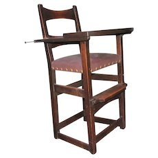 Superb Charles Limbert High Chair (Child's Chair)  w5130