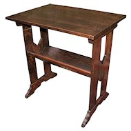 Antique Arts & Crafts Stand/Table  w5151