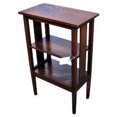 Antique Arts & Crafts Magazine Stand w5192
