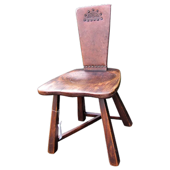 Antique Arts & Crafts Chair w5242