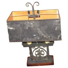 Vintage Arts & Crafts Table Lamp  w5260