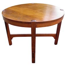 Antique Gustav Stickley Arts & Crafts Table  w5302