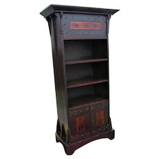 Superb Antique Shop of the Crafters Cabinet (Bookshelf)  w5307