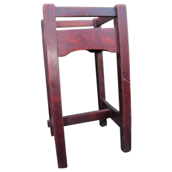 Antique Early 1902-03 Gustav Stickley Plant Stand  w5366