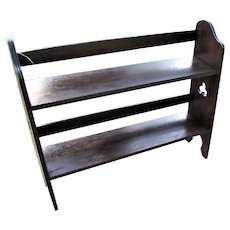 Antique Oak Book Stand  w5370