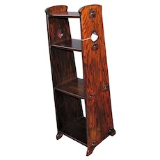 Antique Arts & Crafts Book Stand w5374