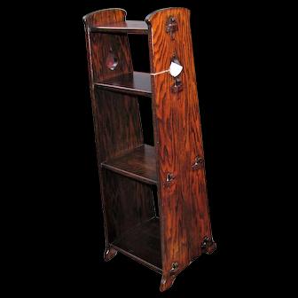 Antique Arts & Crafts Book Stand w5374