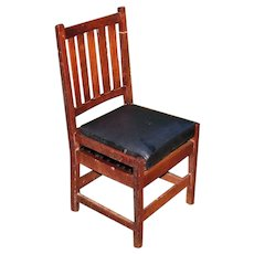 Antique Gustav Stickley Side Chair w5405