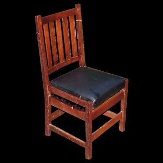 Antique Gustav Stickley Side Chair w5405