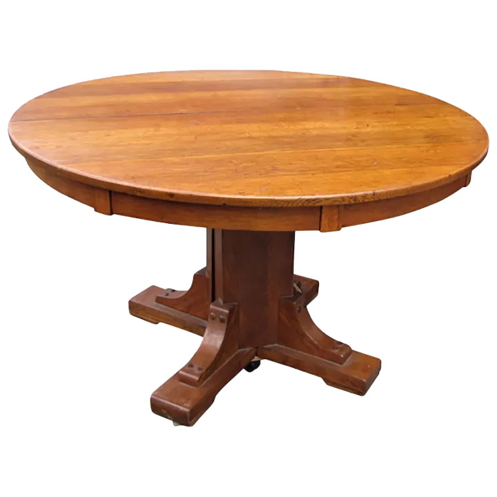 Stickley Brothers Pedestal Dining Table w5413